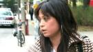 Erika Mendieta outside court on Tuesday, Oct. 20, 2009.