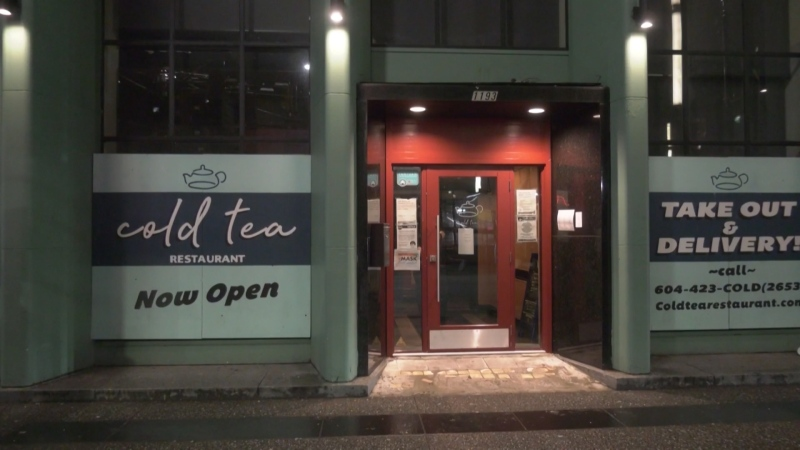 Cold Tea Restaurant in Vancouver.