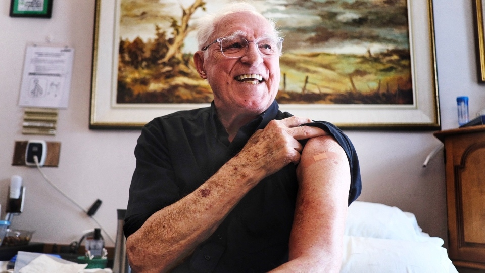 Perley Rideau vaccine Arnold Roberts