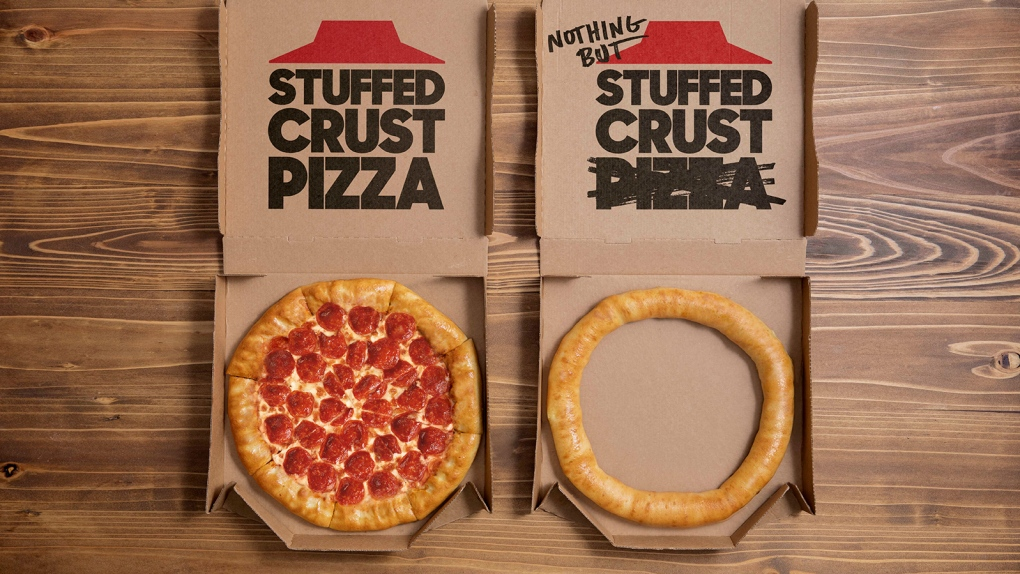 Pizza Hut USA rolls out a new stuffed crust – minus the pizza