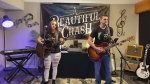 The group, A Beautiful Crash, is Sean and Christine from Matheson, and here, they cover 'Free' by the Zac Brown Band.