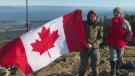 Sawatsky Sign-Off- Mt. Benson Flag