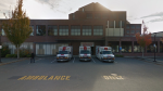 The exterior of Chilliwack General Hospital is seen in an undated Google Maps image.