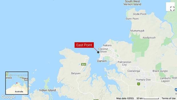 Naked fugitive rescued from crocodile infested mangroves by Australian fishermen