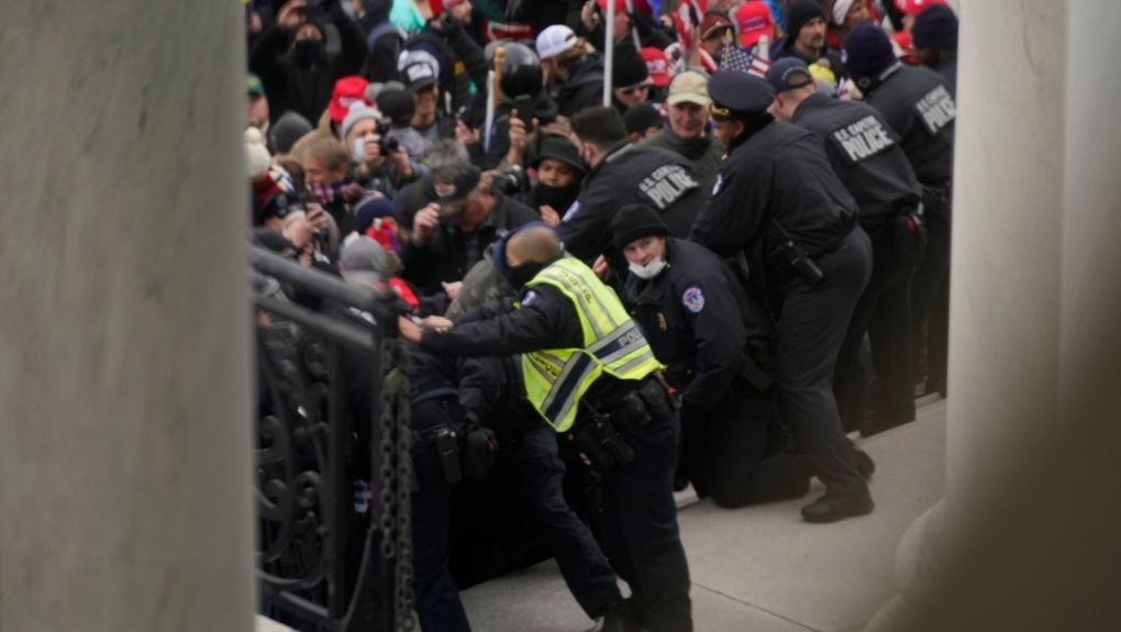 Cowboys for Trump leader arrested over US Capitol riot