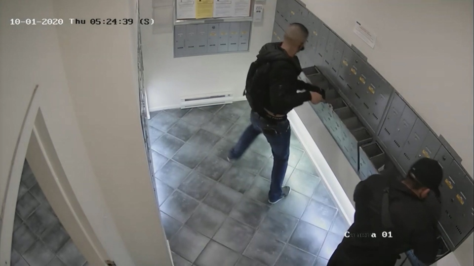 Burnaby mail theft