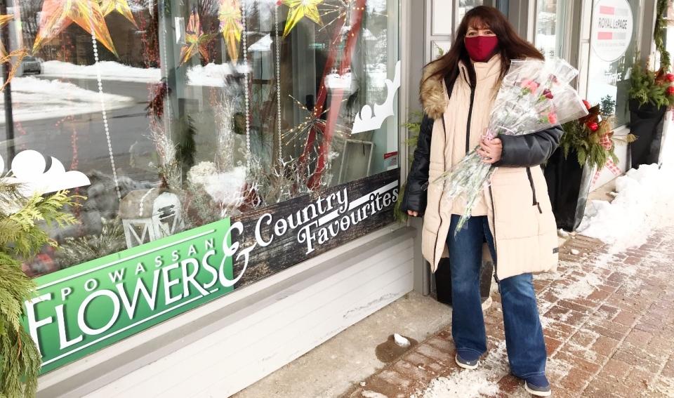 Flower shop anniversary