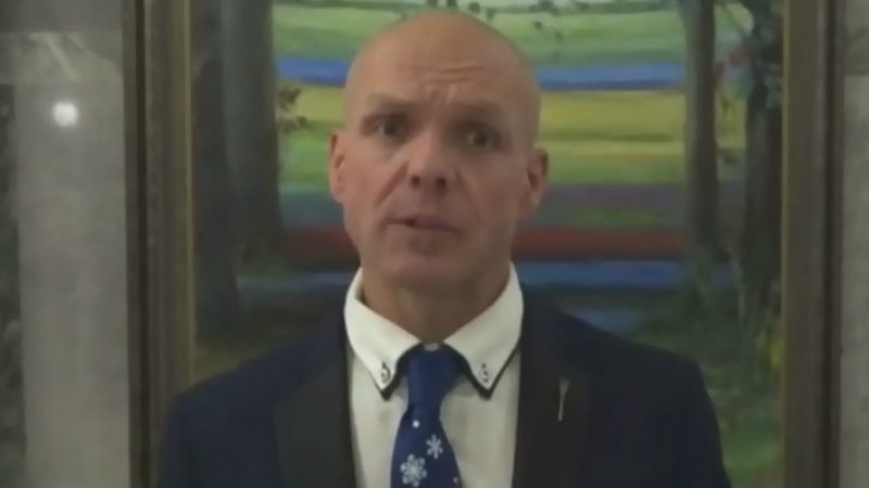 Slave Lake Mayor Tyler Warman says United Conservative MLA Pat Rehn has not reached out to town council since members issued a public letter a week ago calling for him to resign for non-performance of duties. (File photo)
