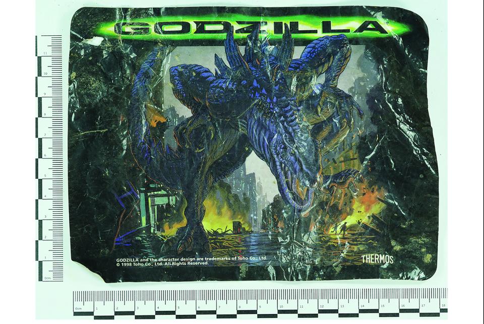 1998 Godzilla wrapper