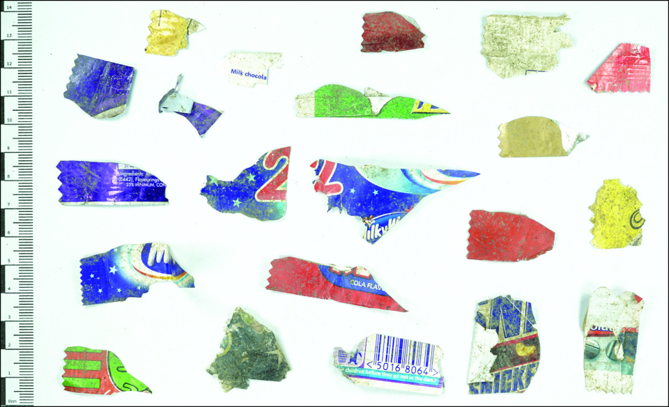 Plastic wrappers
