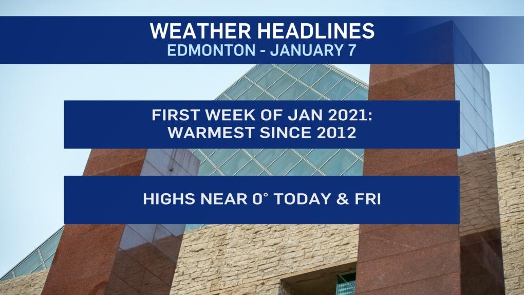 Jan. 7 weather headlines