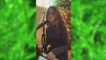 In case you missed it: An up-and-coming young singer from Cochrane, 12-year-old Diamond Lalonde sings Meghan Trainor's 'I'll Be Home.' (CTV Northern Ontario)
