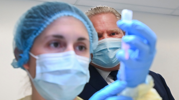 Ontario Premier Doug Ford to provide update on COVID-19 vaccination plan this afternoon