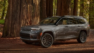 The 2021 Jeep Grand Cherokee L Summit Reserve. (Fiat Chrysler via AP)