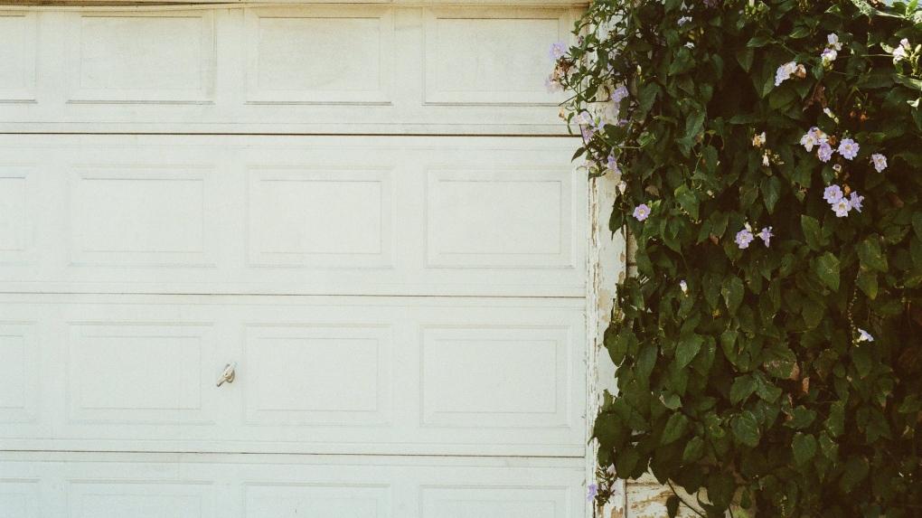 Garage door stock