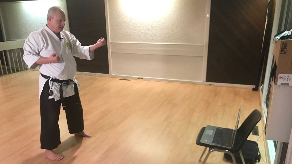Jamie Hanlon, karate