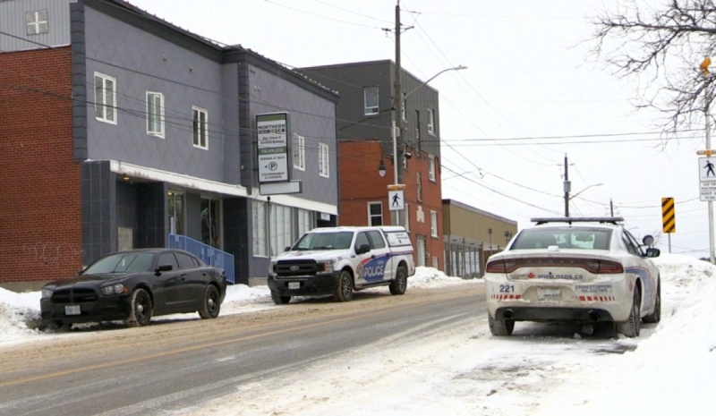 A 30-year-old woman has been arrested in connection with the stabbing death of Robert Keskinen, whose body was found in Sudbury on Boxing Day at a residence on Kathleen Street. (File)