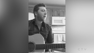 Sudbury's Dustin Martel performs Dear Lover