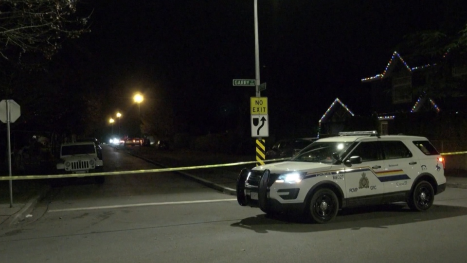 A large portion of Steveston Community Park, as well as a few nearby residential streets and alleys were behind police tape after a fatal shooting on Jan. 7, 2021.