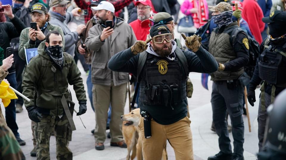 Capitol Hill mob