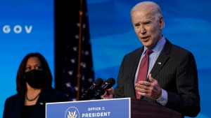 Biden comments on Trump skipping inauguration