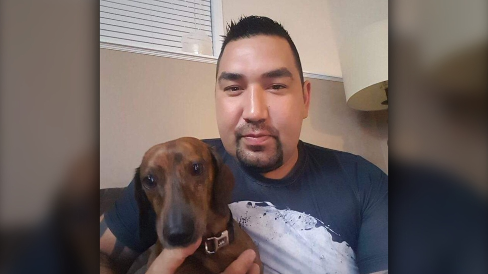 Darrell Baker, 36, died back in November while living in Alberta. His family in B.C. says his cremated remains have been lost in the mail. (Provided)