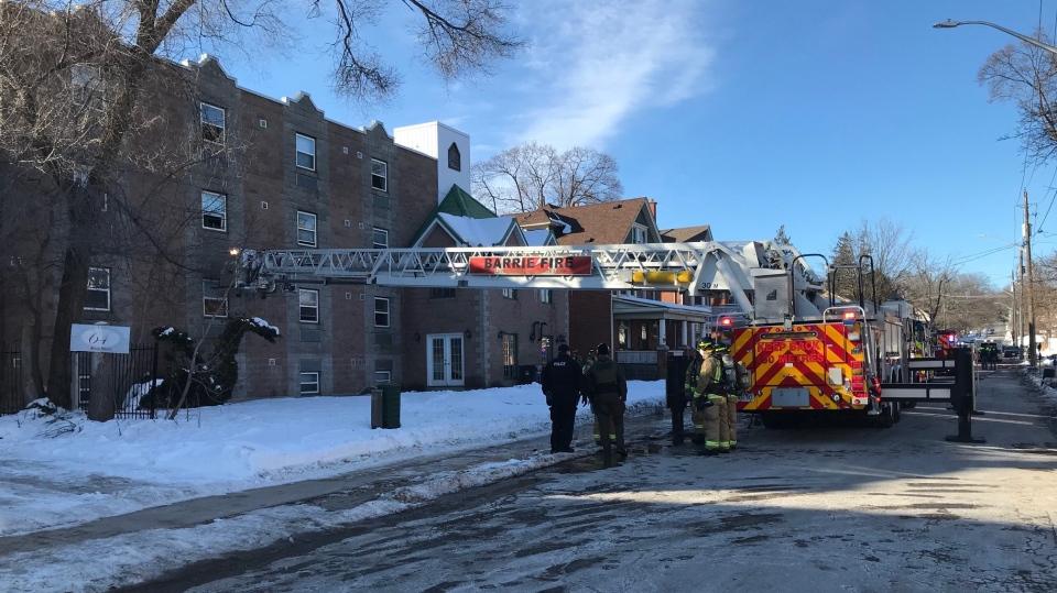 Mary Street fire