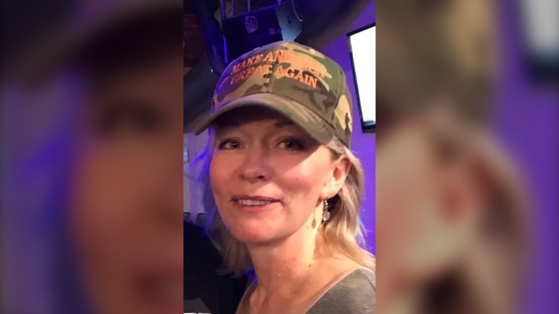 Manitoba MP Candice Bergen seen in an undated phot wearing a Make America Great Again hat.