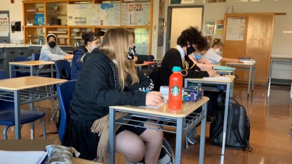 Quebec schools to reopen, though cases high