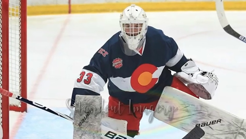 He's a big time goalie from a small town and this week's Athlete of the Week, Riley Tucker. Glenn Campbell reports