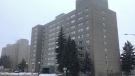 Tower Two at Vallyview Towers North Battleford. (Andrew Mareschal/CTV Saskatoon)