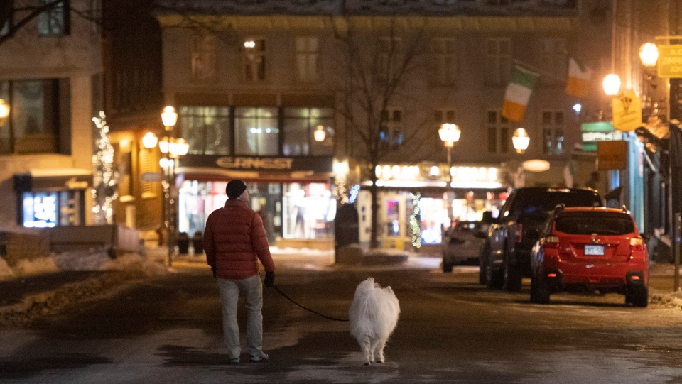 Curfew begins in Quebec as COVID-19 numbers rise