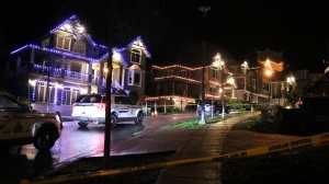 Coquitlam RCMP respond to a drive-by shooting around 1 a.m. on Sunday Jan. 10 in a residential area of Coquitlam, B.C.