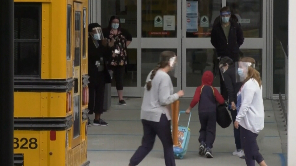 Students back on campus Monday