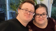 Michael Arruda and Melissa Mancini Arruda, both have Down syndrome.