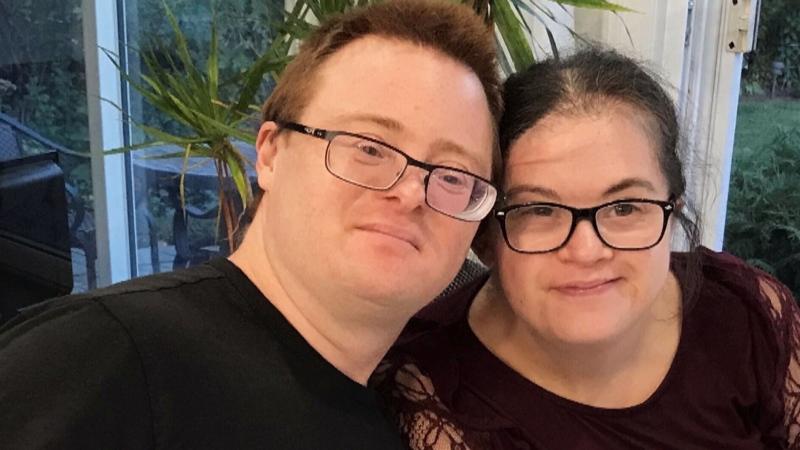 Michael Arruda and Melissa Mancini Arruda, both have Down syndrome.
