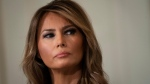 First lady Melania Trump, seen here in 2020, has broken her silence on the Capitol insurrection incited by her husband in a letter posted on the White House website on Jan. 11. (Drew Angerer/Getty Images/CNN)