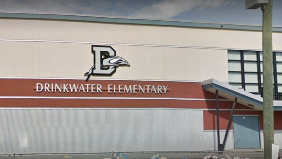 Drinkwater Elementary is located at 6236 Lane Rd. in Duncan, B.C. (Google Maps)