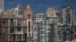 Condo towers are seen in downtown Vancouver on Saturday, Jan. 9, 2021. (Darryl Dyck / THE CANADIAN PRESS)