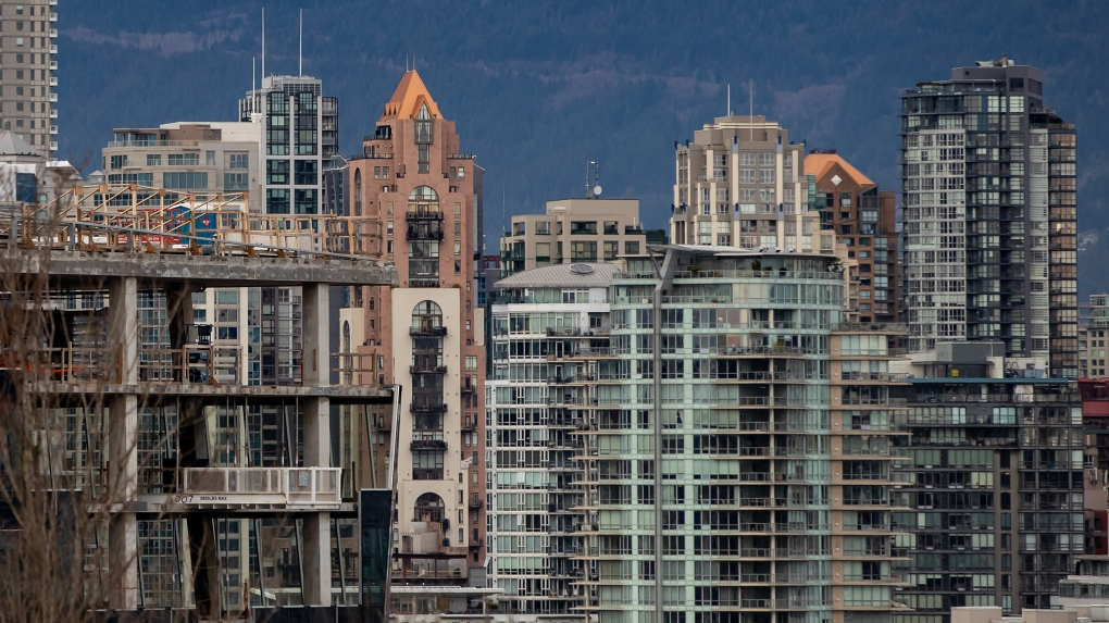 Vancouver skyline, real estate 2021