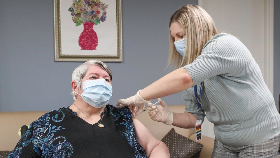 Ann Hicks vaccine