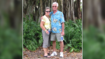 Pam and Chris Gabie have travelled to Florida for the winter and are hoping to get a COVID-19 vaccine before they return to Canada. (Photo courtesy of Pam Gabie)
