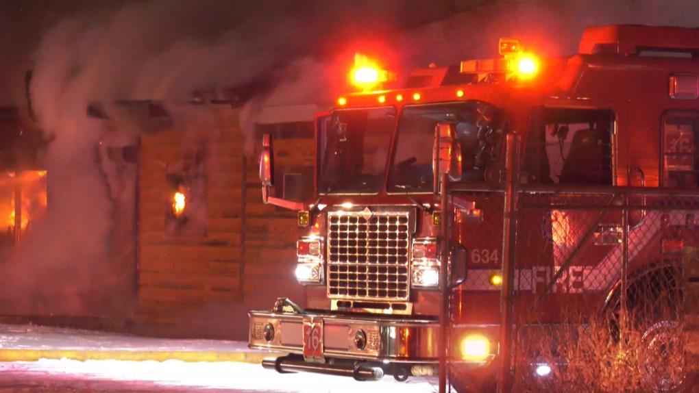 71 Street fire, Jan. 11