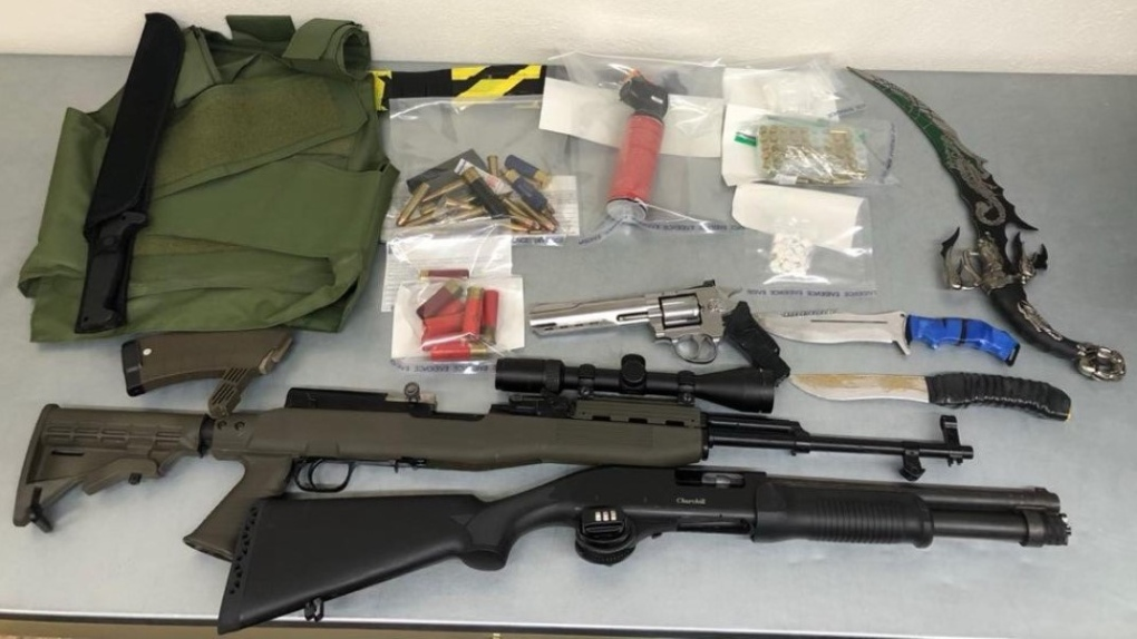 Seized weapons Prince Albert