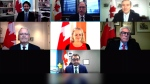 Prime Minister Justin Trudeau shuffled some key front bench posts in a cabinet shakeup prompted by the departure of longtime Liberal Navdeep Bains, Tuesday, Jan. 12, 2021.
