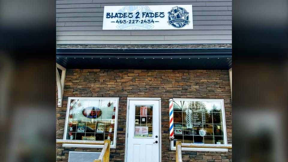 Innisfail, barbershop, Bladez 2 Fadez
