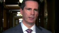 Ontario Premier Dalton McGuinty questioned the affordability of Ottawa's new transit plan, Wednesday, Oct. 28, 2009.