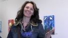 Artist and author Leah Dorion is hosting a new Métis culture podcast. (Lisa Risom/CTV Prince Albert)