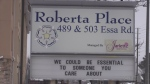 Roberta Place long-term care home in Barrie, Ont. (Mike Arsalides/CTV News)