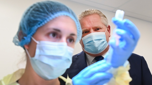 Ontario premier to provide update on COVID-19 vaccination plan amid shortage